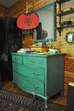 i love colored furniture
