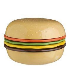 Burger Tidbit Plates & Bowls Set