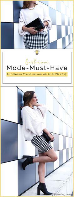 Trend-Vorschau für Herbst / Winter 2017: Karo – So stylst du das Trendmuster in H/W 2017
