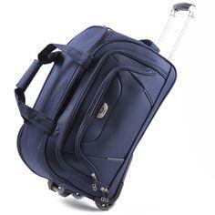 97a3377d5b59d Mała torba podróżna na kółkach. 💥Materiał wierzchni - CODURA 1200D -  najtrwalszy z dostępnych