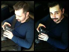 The man behind the lens ♥ ♥ ♥ Photographer Milon Hall