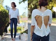 open back t-shirt design