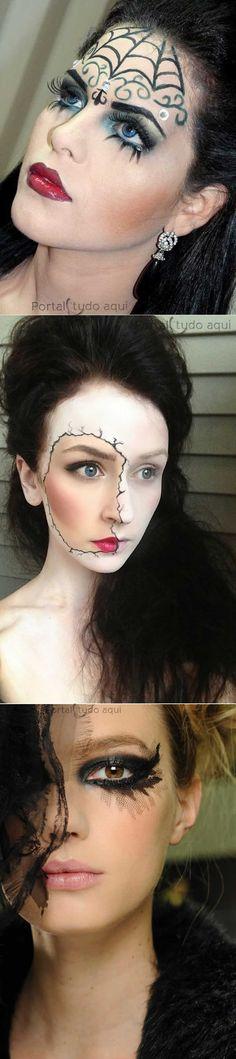 maquiagem-dia-das-bruxas-halloween                                                                                                                                                      Mais