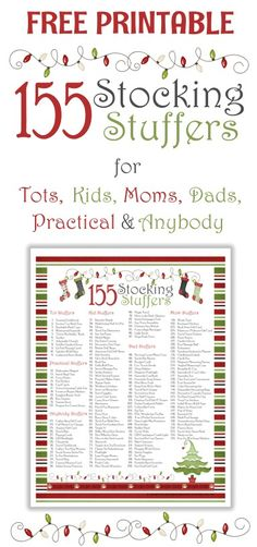 155 stocking stuffers list