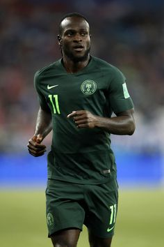 Victor Moses of Nigeria in action during the 2018 FIFA World Cup Russia group D match between Croatia and Nigeria at Kaliningrad Stadium on June 16, 2018 in Kaliningrad, Russia.