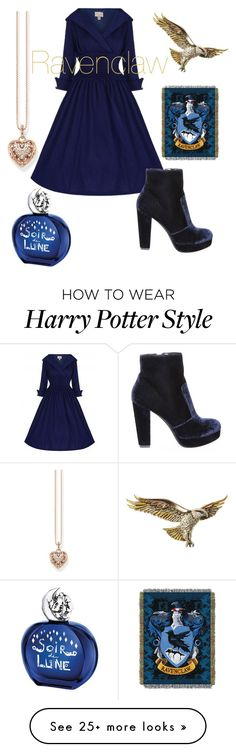 """Ravenclaw"" by uluca on Polyvore featuring Steve Madden, Thomas Sabo and Sisley"