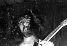 Geezer Butler in the zone.Now this is what I call a passionate bass guitarist Sabbath Day, Black Sabbath, Geezer Butler, James Dio, All About That Bass, Roger Waters, Ozzy Osbourne, Death Metal, Great Bands