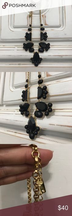 Kate Spade Black/ Gold bubble necklace NEW! Brand new (without tags) Kate Spade Black/ Gold bubble necklace. Never worn. Brand new condition! kate spade Jewelry Necklaces