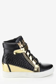 92 best Wedge Sneakers   Outfits to Wear With images on Pinterest ... cadaaa6582a9