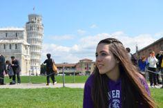 Sonia Gómez en Pisa (Italia)
