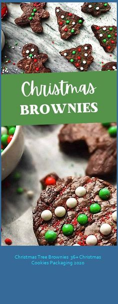 Christmas Tree Brownies are a cute fun holiday dessert perfect for after Christmas dinner or a holiday party. Easy to make and fun for kids! christmas cookies packaging Christmas Tree Brownies 36+ Christmas Cookies Packaging 2020 After Christmas, Kids Christmas, Christmas Wreaths, Christmas Ornaments, Fun Holiday Desserts, Holiday Parties, Holiday Decor, Christmas Cookies Packaging, Cookie Packaging