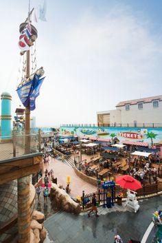 Onemount(Themepark_Waterpark, Snowpark), Shoppingmall, Sportcenter / ilsan, south korea.