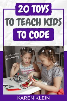 Here you will find best selected toys that teach young and older kids to code! #codingthroughfun Teaching Kids To Code, How To Teach Kids, Birthday Gifts For Kids, Christmas Gifts For Kids, Kids And Parenting, Parenting Tips, What To Study, Kids Sand, Conscious Parenting