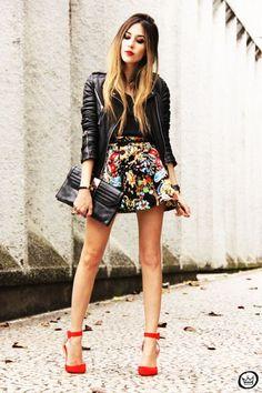 trucos de moda para sentirte comoda mini faldas