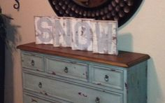Wood Snow Winter Sign by Kslaws on Etsy, $30.00