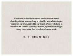 - E.E. Cummings | #quote