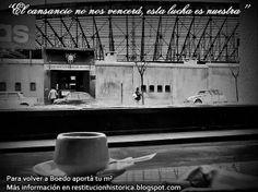 Gasometro desde el Cafe San Lorenzo