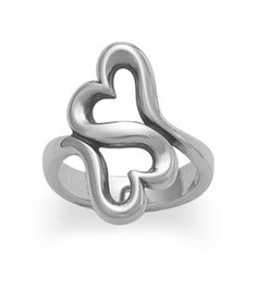 Heart to Heart Ring #jamesavery #jewelry