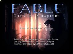 Fable: The Lost Chapters Guide in PlayOnLinux