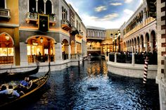 The Venetian @ Las Vegas. Where we stayed when we married and had our honeymoon