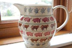 Rare Emma Bridgewater 6 Pint Farmyard Patterned Jug | eBay!!! Bebe'!!! Love this unique pattern of Emma Bridgewater!!!