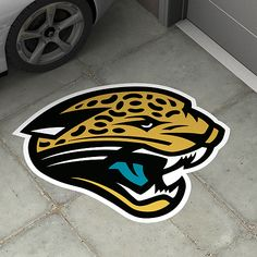 Jacksonville Jaguars Street Grip, I want this all over my driveway... Lol