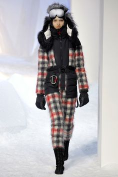 Moncler Gamme Rouge f/w 2013 PFW