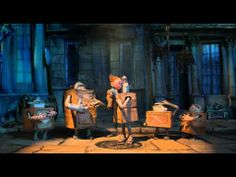 Sometimes, there's a mother. And sometimes, she's in a fantastic trailer. The Boxtrolls!