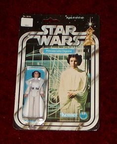 the first Christmas gift I ever gave my Little sister Kenner Star Wars Figure - Princess Leia