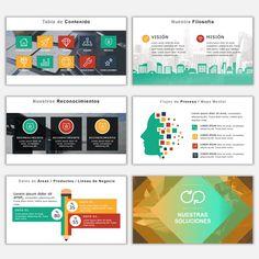 Plantillas Power Point para Presentaciones Powerpoint To Pdf, Powerpoint Themes, Ppt Design, Ppt Template, Infographic Templates, Marketing, Power Points, Goku, Study