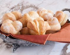 These easy rolls complete a menu with just the right visually pleasing, finishing touch.