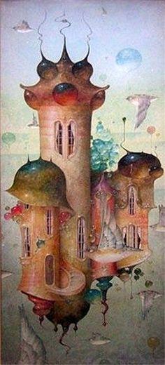 """Above it All"" ~ Daniel Merriam ~ Watercolorist Extraordinaire ~ Miks' Pics ""Daniel Merriam l"" board @ http://www.pinterest.com/msmgish/daniel-merriam-l/"