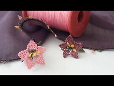 Needle Lace, Diy And Crafts, Make It Yourself, Youtube, Crochet, Earrings, Stuff To Buy, Lace, Ganchillo