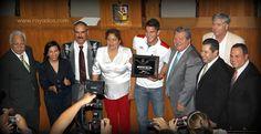 El H. Congreso del Estado de Nuevo León felicitó y reconoció el esfuerzo de Hiram Ricardo Mier Alanís, orgullo de Nuevo León, por haber ganado medalla de oro en fútbol varonil  en la XXX edición de los Juegos Olímpicos, celebrados en la ciudad de Londres, Inglaterra.