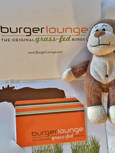 Planning #lunch w/#giftcard I got @burger_lounge. #burger #grassfed #hamburger #localproduce #sustainable #American