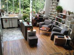 Atelier / salon cuisine américaine 3