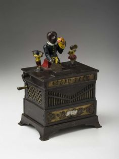 Buy online, view images and see past prices for ORGAN BANK, BOY AND GIRL PAINTED CAST-IRON MECHANICAL BANK, KYSER & REX CO., PHILADELPHIA, PENNSYLVANIA.. Invaluable is the world's largest marketplace for art, antiques, and collectibles. Money Bank, Doorstop, Horse Drawn, Pennies, Archaeology, Vintage Toys, Pennsylvania, Banks, Childhood Memories