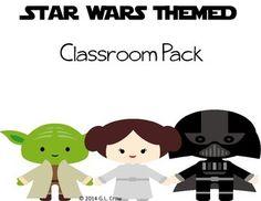 Star Wars Classroom Decor Pack