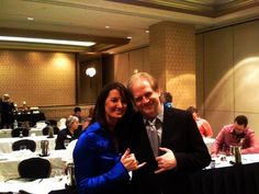 Coach Deb - Deb Cole with Kevin Hogan at Influence Boot Camp.  Deb delivers the latest and greatest strategies on social media.