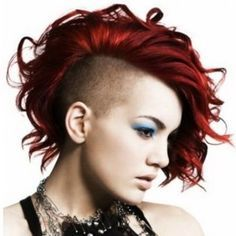 short haircuts for women buzed on one side - Google Search