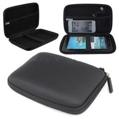 EVA PU Hard Shell Carry Case Bag Cover Protector 7 Inches GPS Navigation Protection Package Hard Disk Drive HDD Tablet Cover Bag