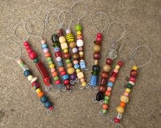 Bubble Wands  with beads and wire