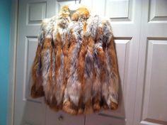 https://www.etsy.com/listing/206806611/fox-vintage-fur-coat-jacket @navyhoop