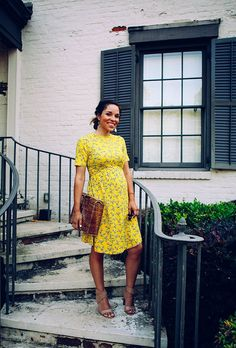31 Dresses No. 10: That yellow number.
