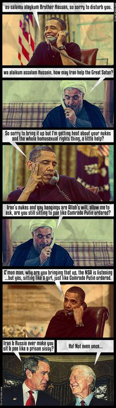 A Summary Of The Phone Call From Chairman Obama To Iranian President Rouhani - Blur Brain