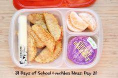31 Days of School Lunchbox Ideas - Day 21 | 5DollarDinners.com