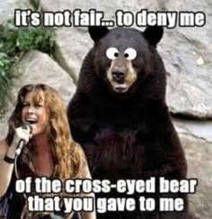 Misheard lyrics.... now every time hear this song... I will be thinking of this pic.