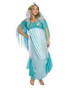 Adult Queen Of The Sea Costume