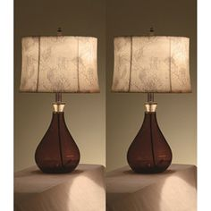 Lacy 25-inch Table Lamps (Set of 2)