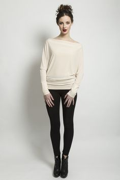 PLEATED COWL NECK TOP  195.00 Cowl neck pleated tunic top.  Material: Jersey Aw 2014, Cowl Neck Top, Normcore, Tunic Tops, Blouse, Long Sleeve, Sleeves, Collection, Women
